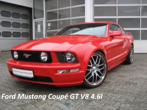 Mustang red